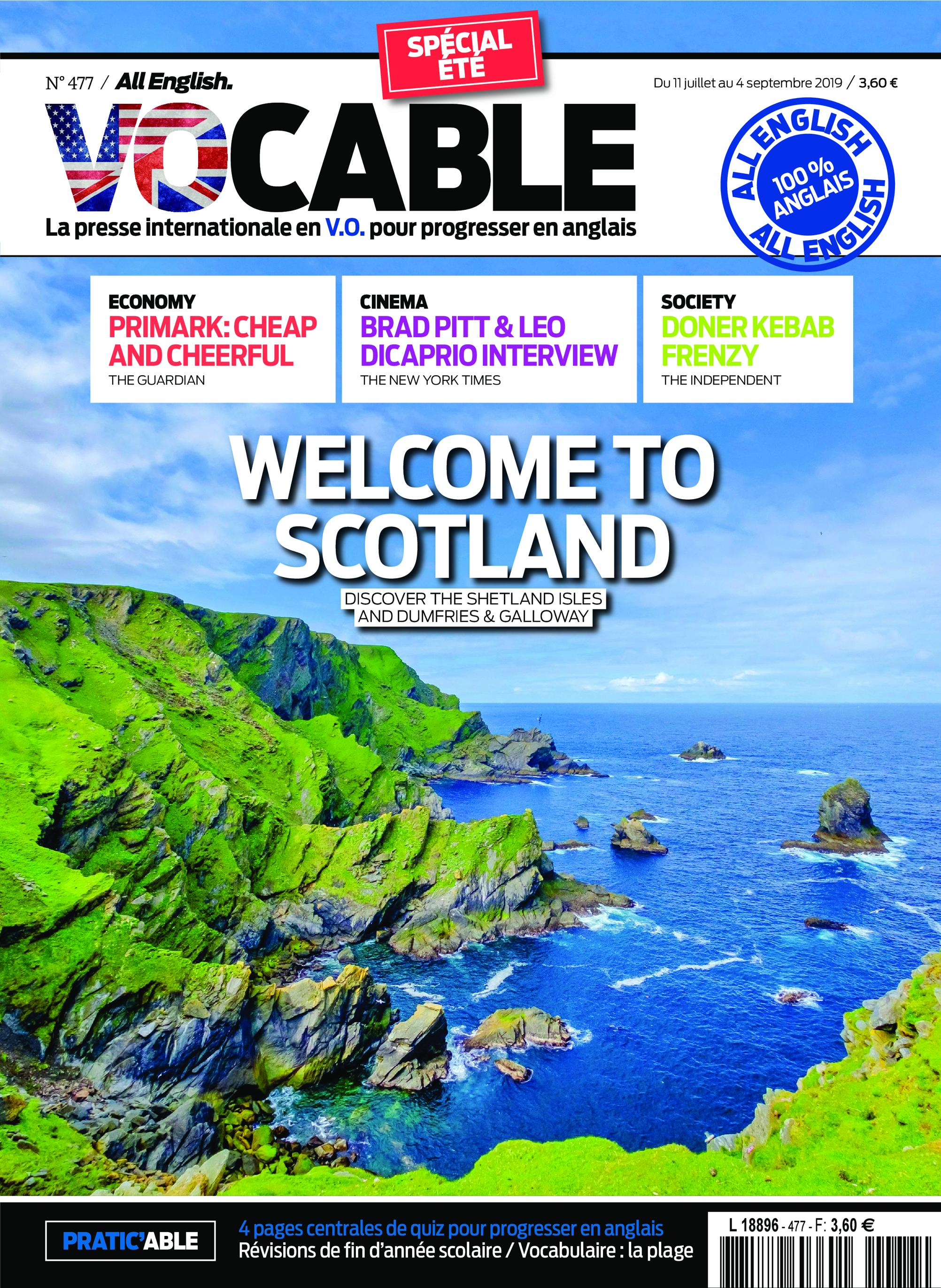 Vocable All English – 11 July 2019