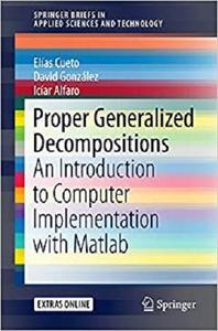 Proper Generalized Decompositions: An Introduction to Computer Implementation with Matlab  [Repost]