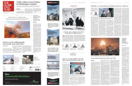 The Globe and Mail – November 13, 2018