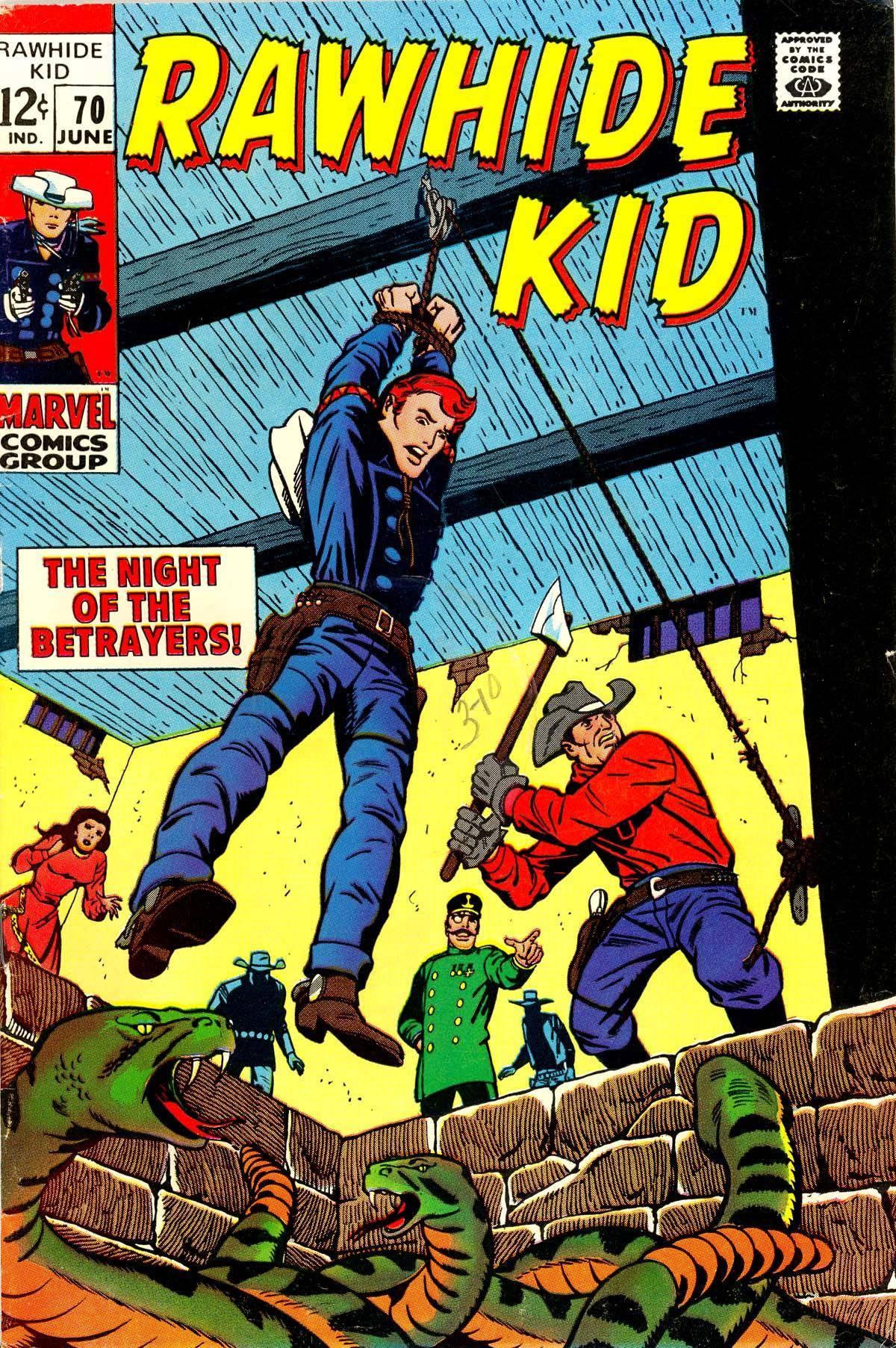 Rawhide Kid v1 070 1969 Punkrat