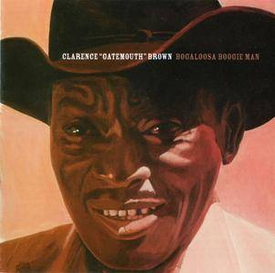 Clarence 'Gatemouth' Brown - Bogalusa Boogie Man (1975) Expanded Remastered Reissue 2007