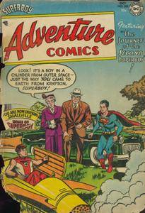 Adventure Comics 1954-10 205 not
