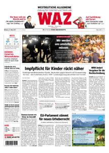 WAZ Westdeutsche Allgemeine Zeitung Oberhausen-Sterkrade - 27. März 2019