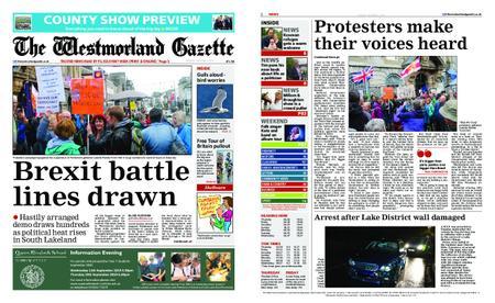 The Westmorland Gazette – September 05, 2019