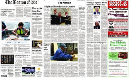 The Boston Globe – October 02, 2017