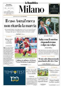 la Repubblica Milano - 13 Giugno 2021