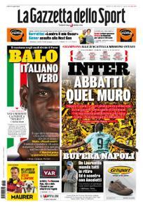 La Gazzetta dello Sport – 05 novembre 2019