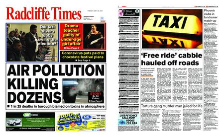 Radcliffe Times – March 12, 2020