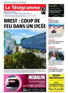 Le Télégramme Brest Abers Iroise – 06 septembre 2019