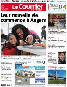 Le Courrier de l'Ouest Angers - 28 novembre 2017