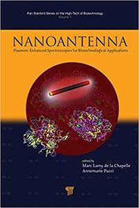 Nanoantenna Plasmon Enhanced Spectroscopies for Biotechnological Applications