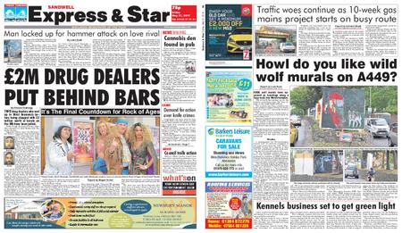 Express and Star Sandwell Edition – May 31, 2019