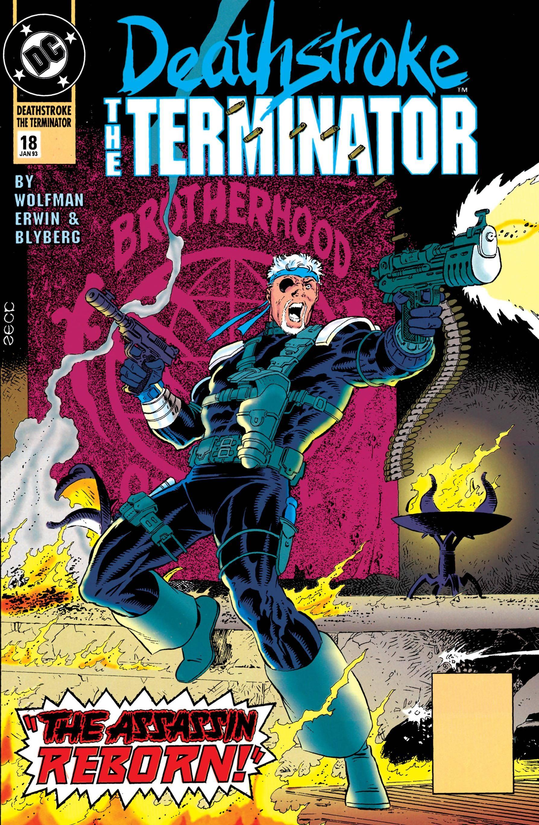 Deathstroke the Terminator 018 1993 digital Minutemen-Midas