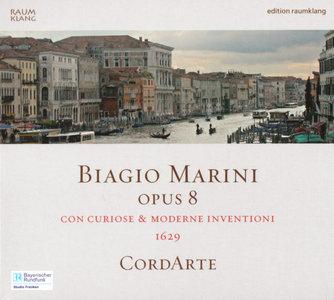 Biagio Marini - Opus 8: Con Curiose & Moderne Inventioni 1629 - CordArte