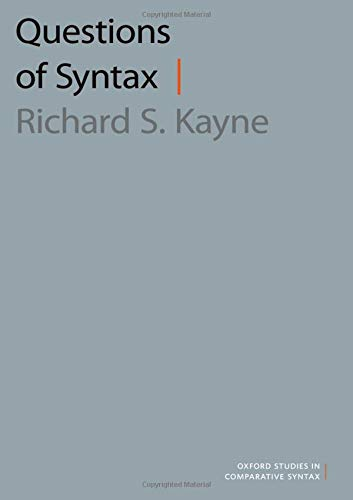 Questions of Syntax