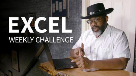 Excel Weekly Challenge [Updated 6-9-2019]