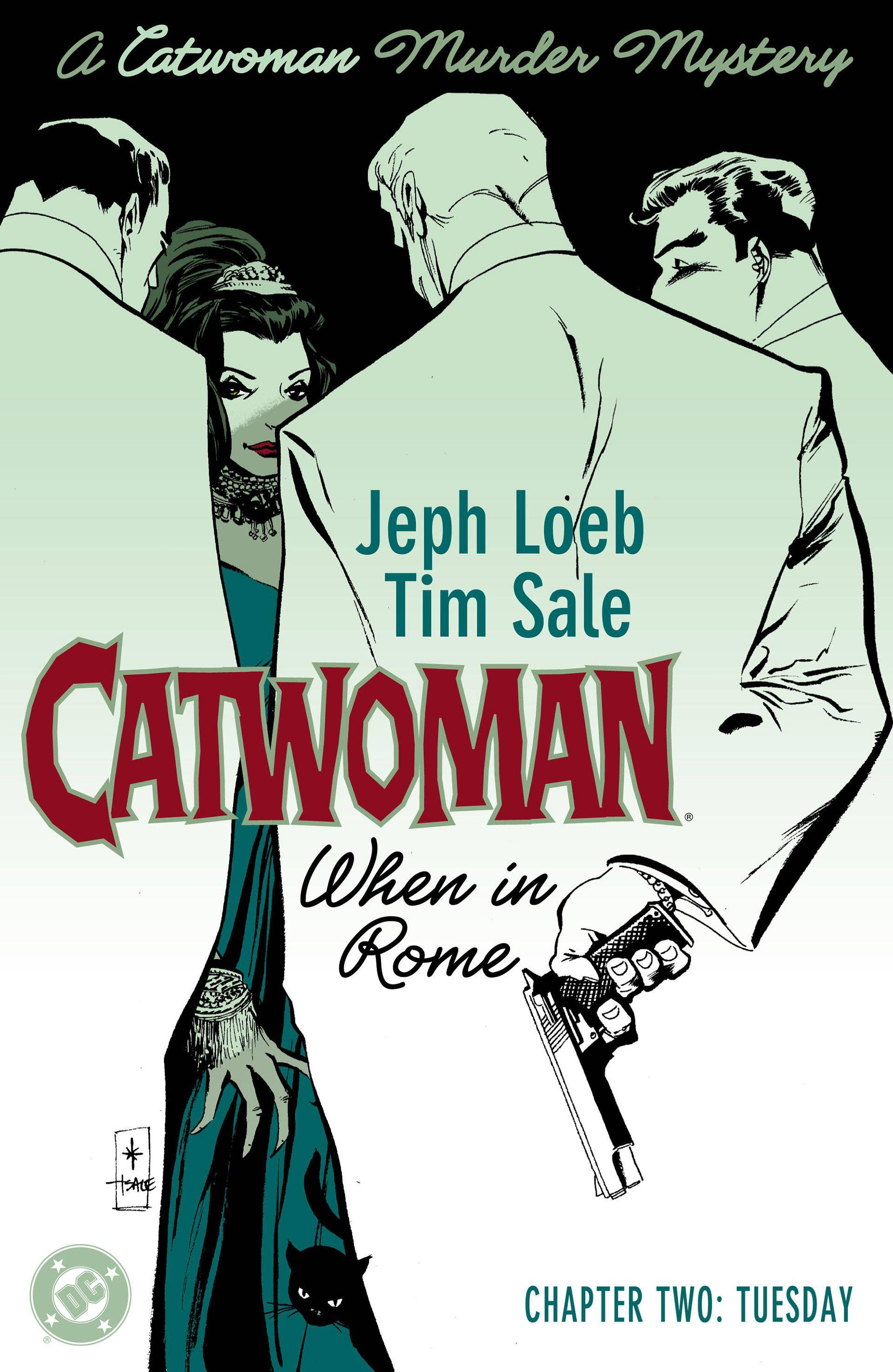 Catwoman When in Rome 02 of 6 2004 Digital