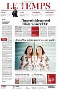 Le Temps - 04 juin 2018