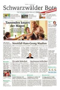 Schwarzwälder Bote Hechingen - 19. August 2019