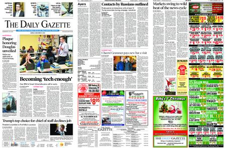 The Daily Gazette – December 10, 2018
