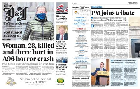 The Press and Journal Moray – April 29, 2020