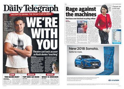 The Daily Telegraph (Sydney) – December 01, 2017