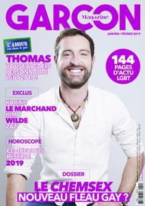 Garçon Magazine - janvier 2019