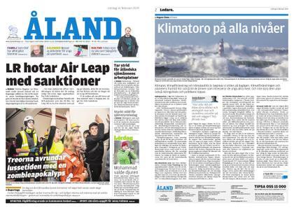 Ålandstidningen – 16 februari 2019