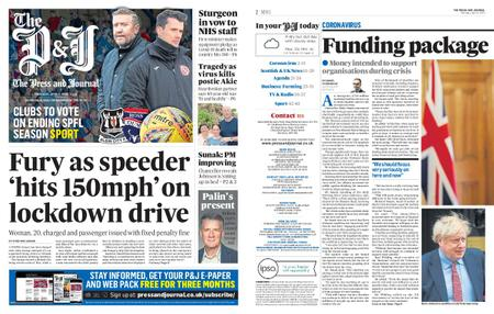 The Press and Journal Moray – April 09, 2020