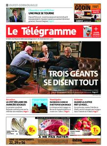 Le Télégramme Ouest Cornouaille – 30 janvier 2020