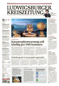 Ludwigsburger Kreiszeitung LKZ - 22 Juli 2021