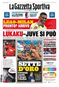 La Gazzetta dello Sport Roma – 28 luglio 2019