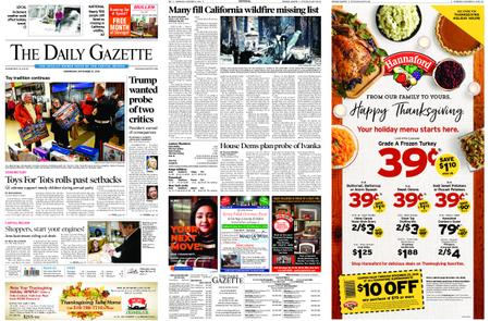 The Daily Gazette – November 21, 2018