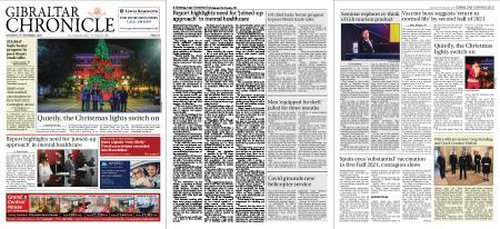 Gibraltar Chronicle – 21 November 2020