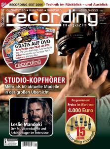 Recording Magazin - August-September 2021
