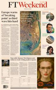 Financial Times Asia - March 27, 2021