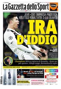 La Gazzetta dello Sport Roma – 13 marzo 2019