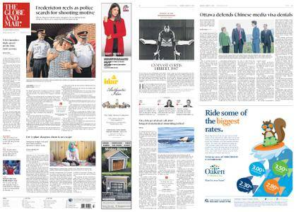The Globe and Mail – August 13, 2018