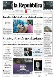 la Repubblica - 28 Gennaio 2021