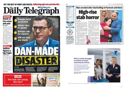 The Daily Telegraph (Sydney) – July 17, 2020