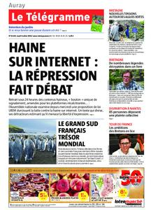Le Télégramme Auray – 04 juillet 2019