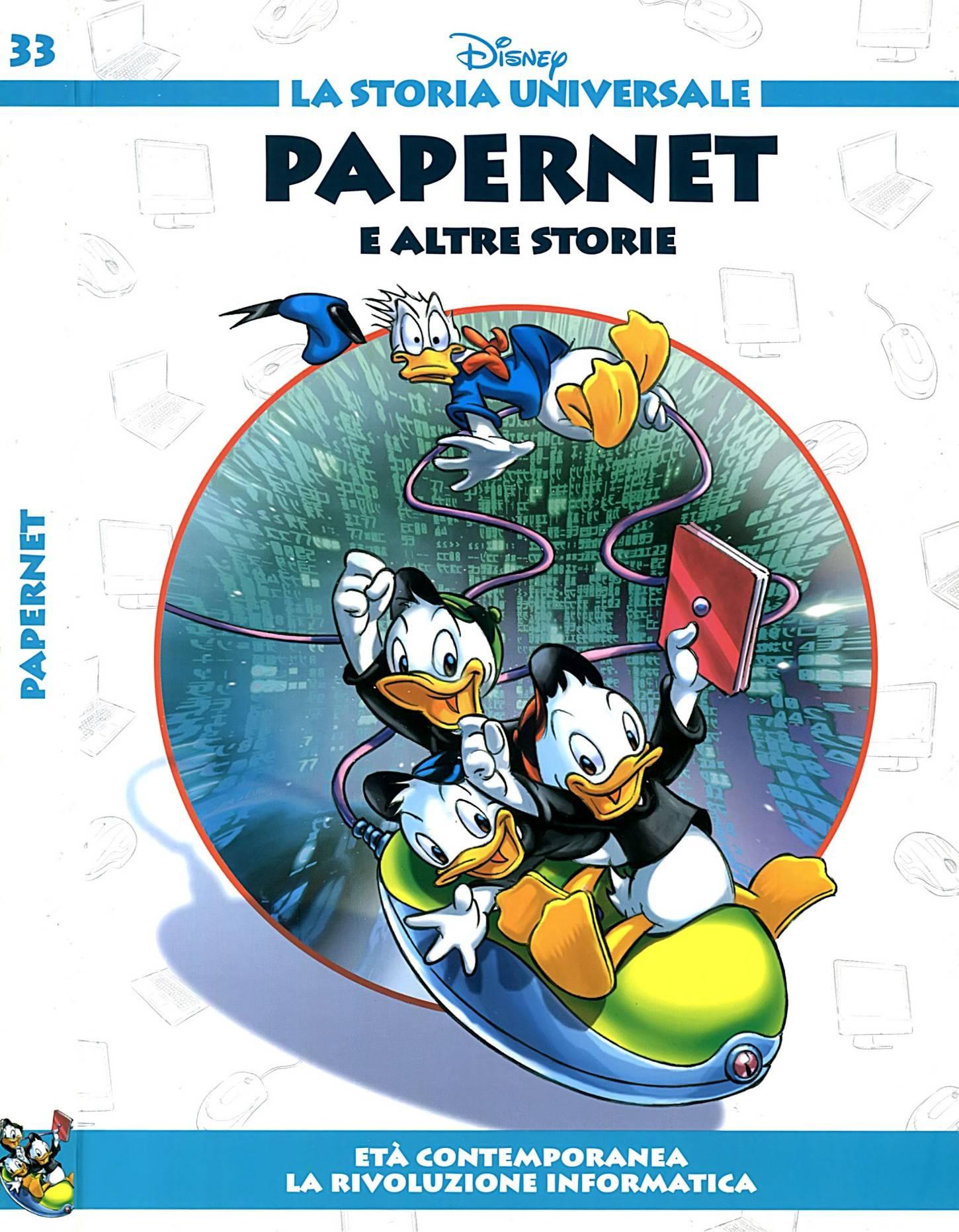 La Storia Universale Disney - Volume 33 - Papernet (2011)