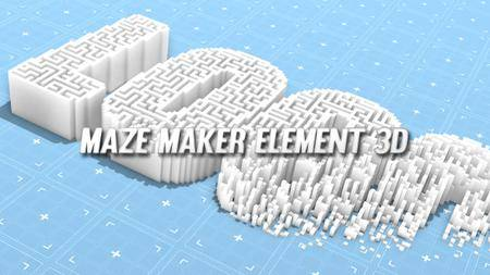 Maze Maker Element 3D - Project for After Effects (VideoHive)