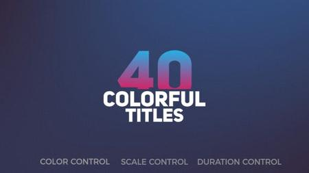 Videohive Title Pack 19882250
