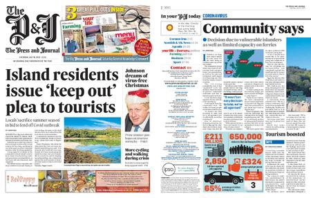 The Press and Journal Moray – July 18, 2020
