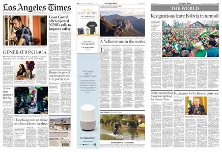 Los Angeles Times – November 12, 2019