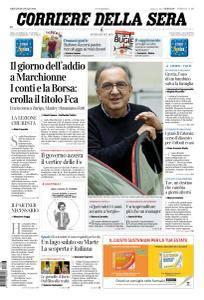 Corriere della Sera - 26 Luglio 2018