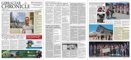 Gibraltar Chronicle – 25 May 2021