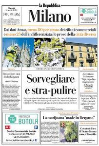 la Repubblica Milano - 14 Aprile 2020