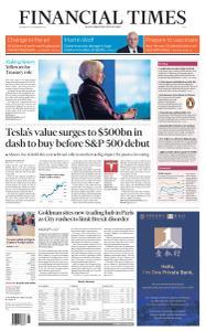 Financial Times Asia - November 25, 2020